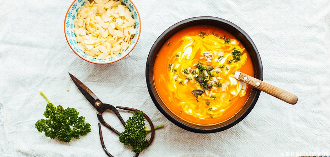 przepis na zupę dyniową